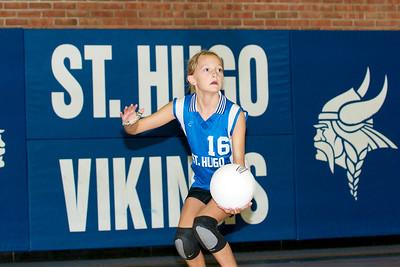 Hugo 5th Grade Volleyball 2010-09-18  17