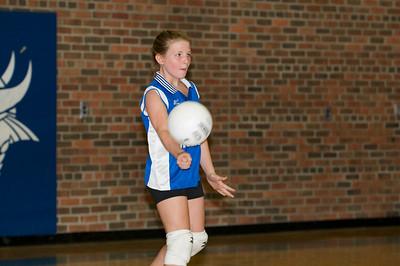 Hugo 5th Grade Volleyball 2010-09-18  82