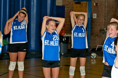 Hugo 5th Grade Volleyball 2010-09-18  4