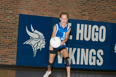 Hugo 5th Grade Volleyball 2010-09-18  65