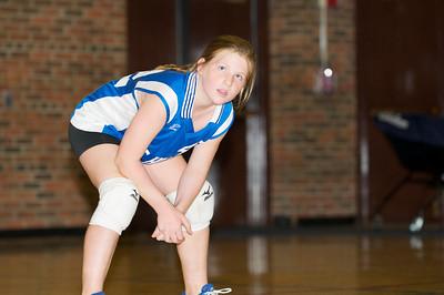 Hugo 5th Grade Volleyball 2010-09-18  39