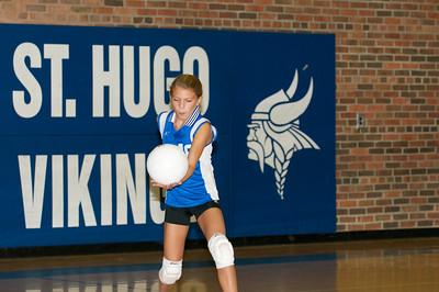 Hugo 5th Grade Volleyball 2010-09-18  83