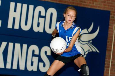 Hugo 5th Grade Volleyball 2010-09-18  31