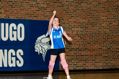 Hugo 5th Grade Volleyball 2010-09-18  57