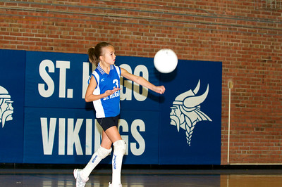 Hugo 5th Grade Volleyball 2010-09-18  19
