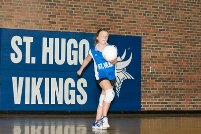 Hugo 5th Grade Volleyball 2010-09-18  62