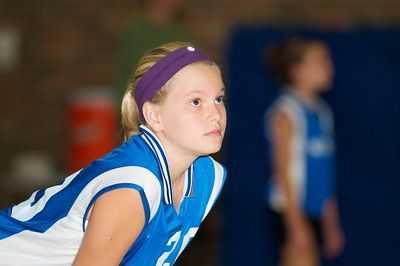 Hugo 5th Grade Volleyball 2010-09-18  80