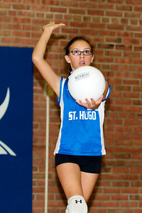 Hugo 5th Grade Volleyball 2010-09-18  20