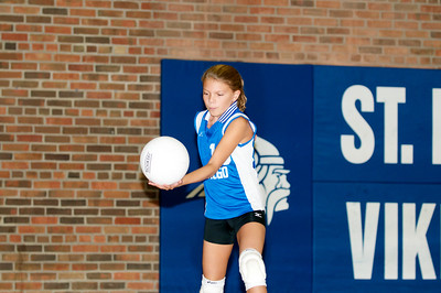 Hugo 5th Grade Volleyball 2010-09-18  46
