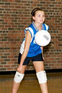 Hugo 5th Grade Volleyball 2010-09-18  88
