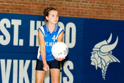 Hugo 5th Grade Volleyball 2010-09-18  27