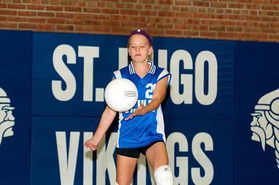 Hugo 5th Grade Volleyball 2010-09-18  29
