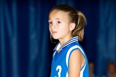 Hugo 5th Grade Volleyball 2010-09-18  11