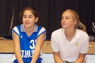 Hugo 7th Grade Vball vs  Regis  2012-09-13  90