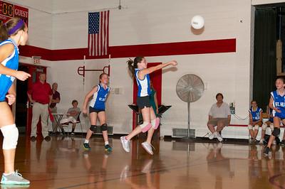 Hugo 7th Grade Vball vs  Regis  2012-09-13  60