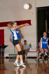 Hugo 7th Grade Vball vs  Regis  2012-09-13  40