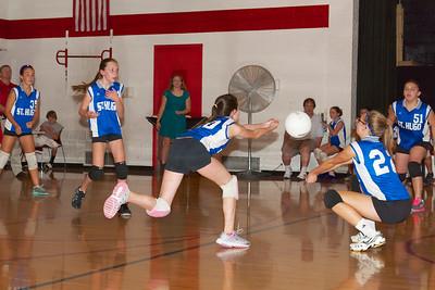Hugo 7th Grade Vball vs  Regis  2012-09-13  67