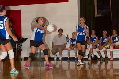 Hugo 7th Grade Vball vs  Regis  2012-09-13  45