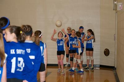 7th Grade Hugo Volleyball 2012-10-13  1