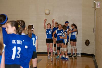 7th Grade Hugo Volleyball 2012-10-13  2