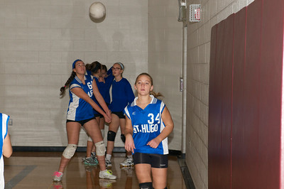 7th Grade Hugo Volleyball 2012-10-13  3