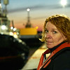 Denise - Lockmaster at the Canso Locks. The Canso Lock is unusual as it is operated by the Canadian Coast Guard.