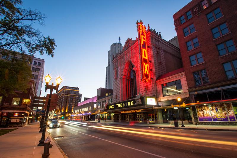 The Fabulous Fox Theatre in Grand Center