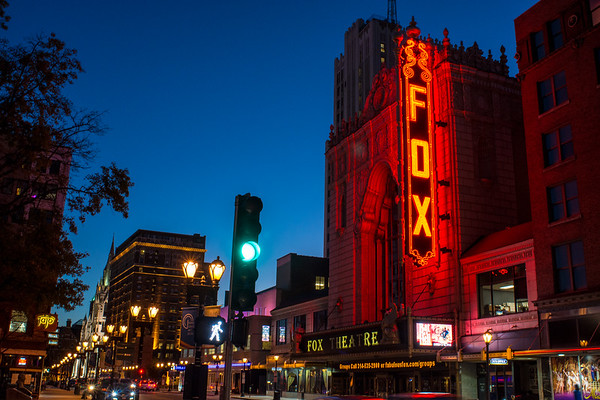 The Fabulous Fox Theatre in Grand Center