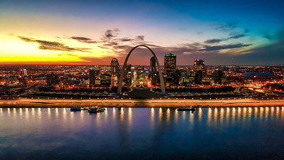 The Gateway Arch and Skyline