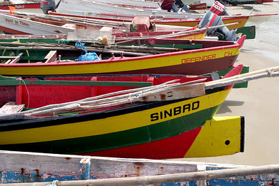 Fishing Boats, Vieux Fort Fishing Complex, Saint Lucia, Windward Islands, Caribbean Sea