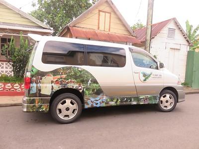 St Lucia Vison's van