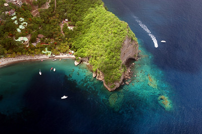 Anse Chastanet, Saint Lucia, Windward Islands, Caribbean Sea