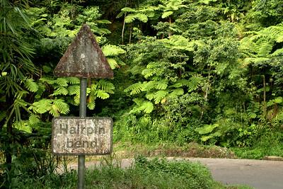 Island Roads, Saint Lucia, Windward Islands, Caribbean Sea