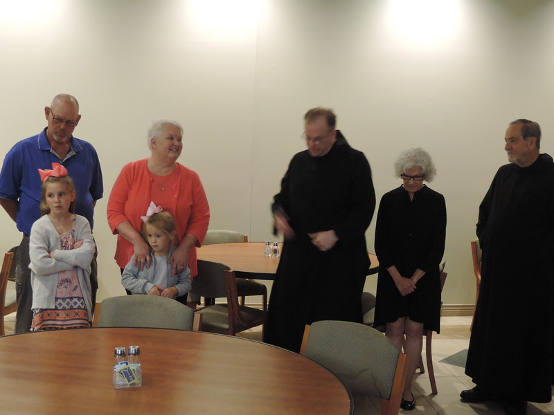 A retirement luncheon and open house was held for Cathy Schwindel on Sept. 24 in the Anselm Dining Room.