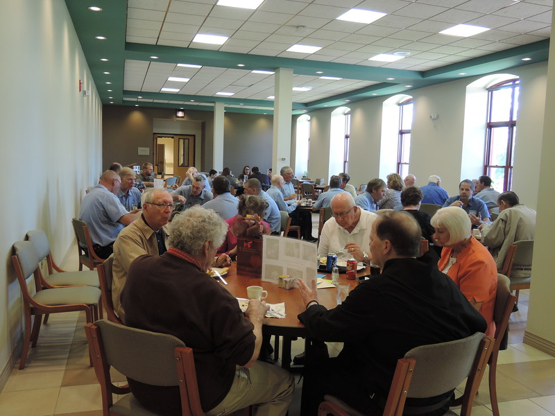 Renus Waninger's retirement open house was held on May 2, 2017 after 58 years of service to Saint Meinrad.