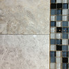 Top tile and bottom marble