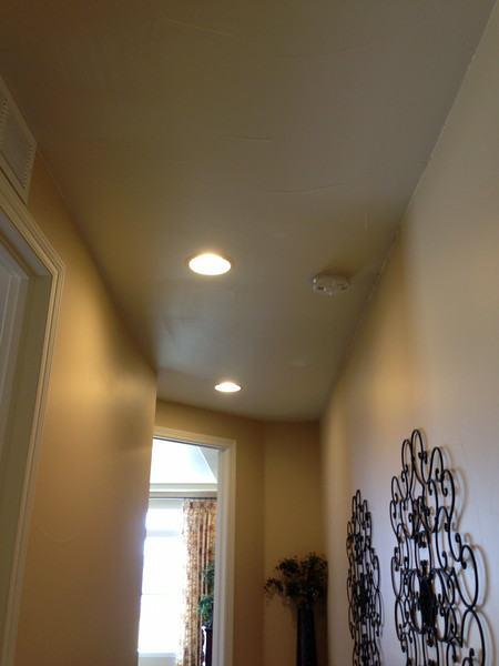 Hallway in Model without soffit