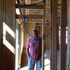 Standing in Great room.. plumbing of shower.