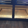 Saint Regis double pull out drawers
