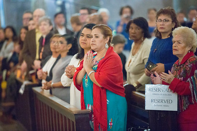 Mass celebrating canonization of Saint Oscar Romero