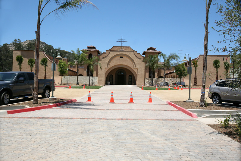 Saint Gabriel Church under construction