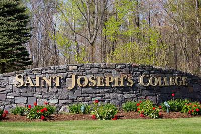 Saint Joseph's College of Maine Commencement Exercises on 5.9.15, Standish, Maine.