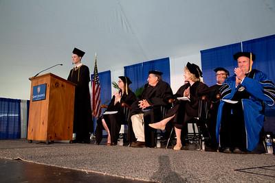 Saint Joseph's College of Maine Commencement on 5.13.17, Standish, Maine.