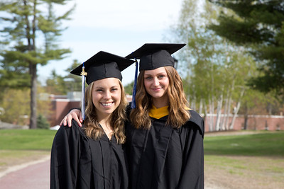 Saint Joseph's College of Maine Commencement on 5.12.18, Standish, Maine.