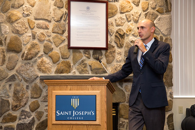 Saint Joseph's College of Maine, Hall of Fame Induction Ceremony 9.12.15