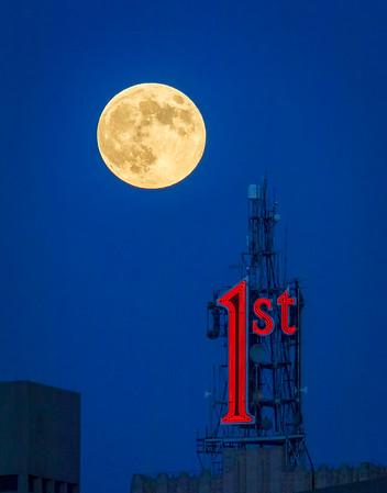 Full Moon over the 1st