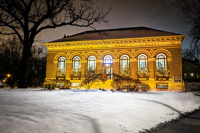 A Winter's Night at the Library