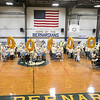 United Way of North Central Massachusetts and St. Bernard's Central Catholic High School held their Saints Against Hunger event, Nov. 20, 2019. The students packaged over 35,000 meals which helped the United Way reach 1,000,000 meals packaged. They had balloons that spelled out 1,000,000. SENTINEL & ENTERPRISE/JOHN LOVE
