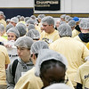 United Way of North Central Massachusetts and St. Bernard's Central Catholic High School held their Saints Against Hunger event, Nov. 20, 2019. The students packaged over 35,000 meals which helped the United Way reach 1,000,000 meals packaged. SENTINEL & ENTERPRISE/JOHN LOVE