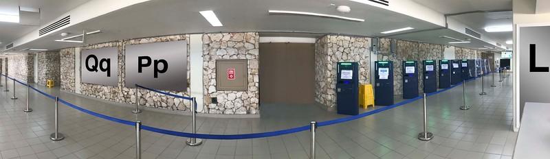 Terminal 2 : Qq, Pp, L, Automated Passport Control